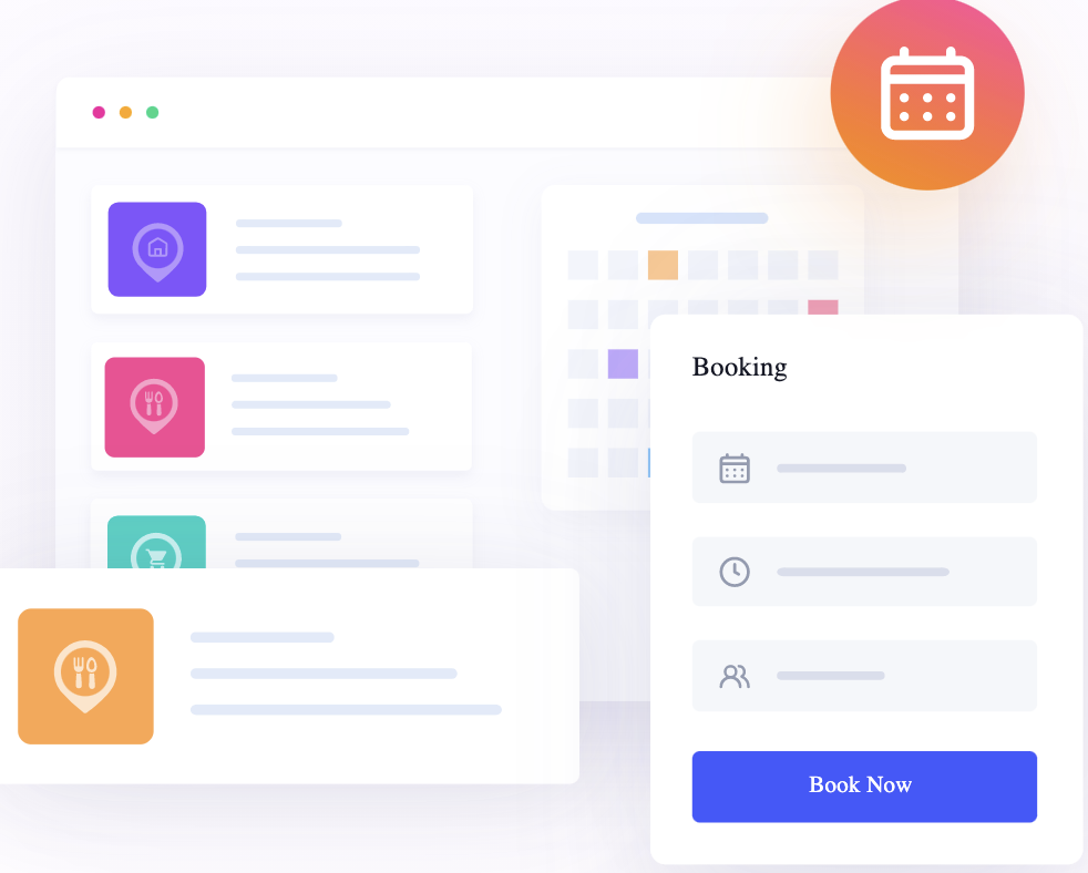 Hub Private Members Booking System