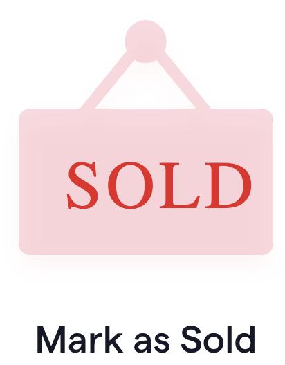 Hub Mark as Sold